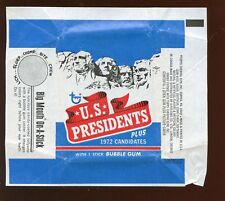 Lot of 44 1972 Topps US Presidents Non-Sports Wax Pack Wrappers