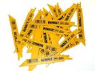 New 25 Pcs Dewalt 18 Tpi Bi-metal Sawzall Reciprocating Saw Blades-Free Shipping