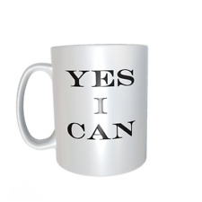 YES I CAN Quote mug ref1077.