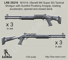 Live Resin 1/35 LRE-35219 M1014 (Benelli M4 Super 90) Tactical Shotgun (3)