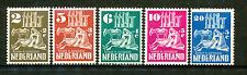 Nederland  556 - 560 ongebruikt (5)