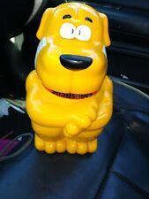 Vintage SNAUSAGES Doggie Treat Biscuit Cookie Jar 1991 Quaker WORKS !! TALKS!!