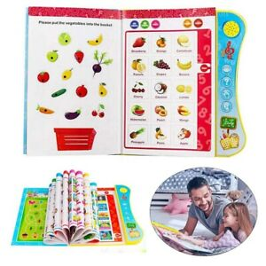 Learning Toy For 3+ Year Old Kids Children Interactive Books Toddler Educational
