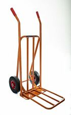 Heavy Duty Sack Trolley Truck Barrow 300+kg Extendable Plate Solid Tyres OT1001