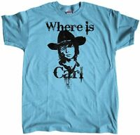 Men's Where Is Carl Grimes The Walking Dead Regular Fit T-Shirt