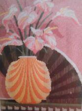 Monarch Horizons Black Silk Fan LS140 Longstitch Needlepoint Kit NEW SEALED