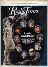 RADIO TIMES 17 APR 1982 . LA RONDE COVER . CHRONICLE MARY ROSE . BARRY MANILOW