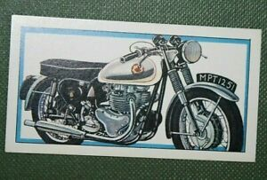 BSA 650 ROCKET GOLD STAR  Motor Cycle  Original Vintage Small Card
