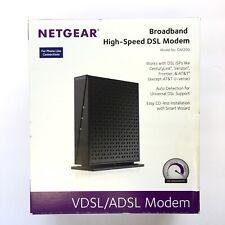 NETGEAR Broadband High-Speed DSL Modem VDSL/ADSL DM200 Open Box