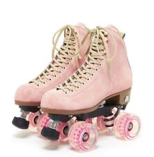 Moxi Lolly Roller Skates Pink Strawberry Size 9 Boot