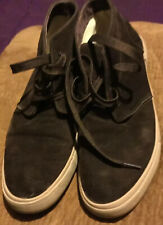 Men's 12 Tans by Tansmith Brown Suede Leather Ankle High Sneaker Shoes