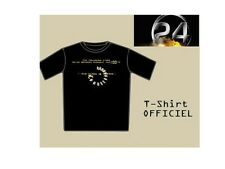 24 heures chrono T-shirt Officiel générique série 24 opening credits tee shirt