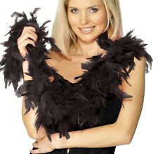 Deluxe Fuscia Pink Red Or Black Feather Boa