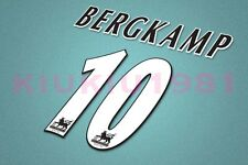 Arsenal Bergkamp #10 PREMIER LEAGUE 04-05 Name/Number Set