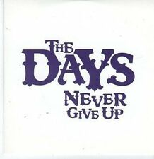 (BK955) The Days, Never Give Up - 2009 DJ CD