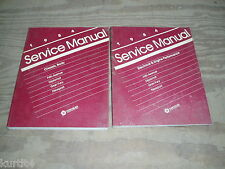 1984 Dodge Diplomat Chrysler 5th Avenue Plymouth Gran Fury shop service manual