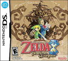 The Legend of Zelda: Phantom Hourglass (Nintendo DS, 2007) Complete