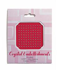 2mm Stationery Jewels Clear Crystal Wedding Decorations Embellishments 100/pk