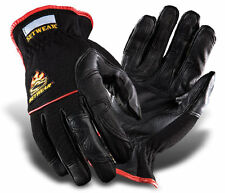 New Setwear Hot Hand Heat Resistant Leather Glove Hothand Black Gloves Large