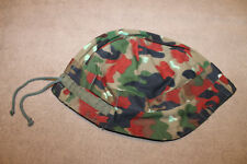 Original Cold War Era Swiss Army M70 Combat Camo Cover, Excellent