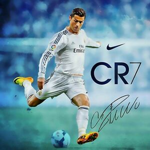 DROB Collectibles CR7 08 Cristiano Ronaldo Juventus Juven Mural Poster Print 17 x 30 Wall Decor Soccer Futbol Football Poster Archival Ink in Professional Photo Paper