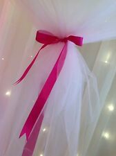 Lt Candy Floss Pink Tulle Netting. 280cm X 280cm. For 3ft Qualatex Balloons