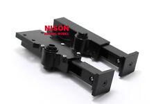 RC NISON Black Aluminum Support Legs Set For Tamiya 1/14 Tractor Trucks Trailer