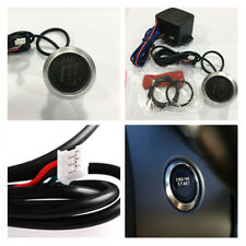 Frosted Matte Red Car Engine Ignition Starter Switch Push Button Type Relay Box
