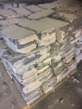 "20 x Solid Concrete 6"" inch building blocks reclaimed used bricks"