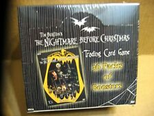 36 Pack Booster Box The Nightmare Before Christmas Trading Card Game Tim Burton