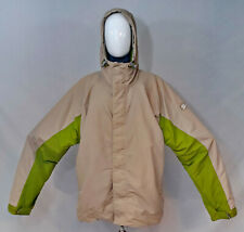 "Burton Snowboards ""Tactic"" Snowboarding Ski Winter Coat Green/Beige Mens Size XL"