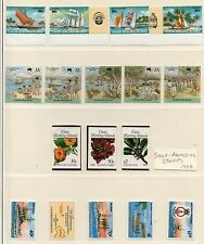 COCOS KEELING 1987-89 STAMP Collection all UNMOUNTED MINT Ref:QD367