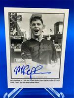 MAX KEPLER 2020 Topps Archives Snapshots AUTO WALKOFF WIRES 37/50 BLACK & WHITE