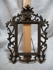 Victorian Cast Iron Picture Frame