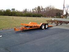 Hudson Brothers Tilt Trailer HD14 5 ton bobcat tactor car Tilt Deck Tandem Axle
