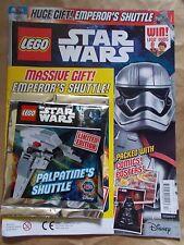 Nuovo di zecca Uk Edition 16 LEGO STAR WARS MAGAZINE #17 + LEGO Set Giocattolo Regalo Palpatine's SH