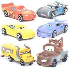 Cars Lightning McQueen Mater Jackson Car Movie Action Figure Kids Toy Gift 6 PCS