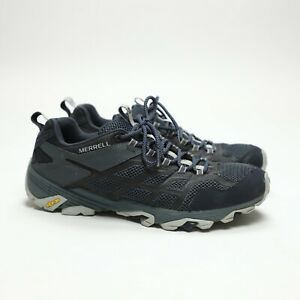 Merrell Moab FST 2 Men's Sz 11 Athletic Trail Hiking Walking Shoes Blue J77467