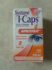 Systane I-Caps Eye Vitamin Areds 2  120 coated tablets Expiration 09/2020