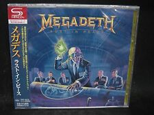 MEGADETH Rust In Peace + 4 JAPAN SHM CD Metallica MD.45 Vixen Hawaii OHM Menza
