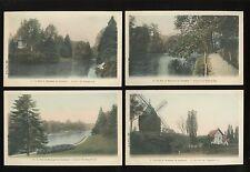 France PARIS Bois de Boulogne en Automne 10 PPCs series #1-10 c1900s?