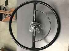 VW bug Black color reproduction Steering Wheel 1965-1971