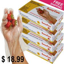 2000pcs Poly HDPE Food Handling Service Disposable Gloves (Latex Vinyl Free) - M