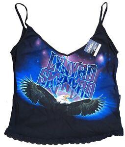 Rare Unworn JONNY ROCK Official LYNYRD SKYNYRD Heavy Eagle Träger Top Shirt S 38