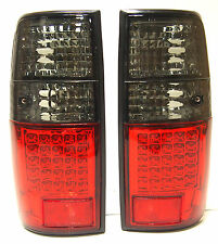 Toyota Land Cruiser HDJ 80 Rear Tail Signal Lights Lamp Set Left+Right Led dark