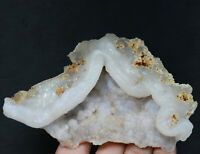 Rare Clear Natural Beautiful Dream agate Crystal Mineral Specimen  208g