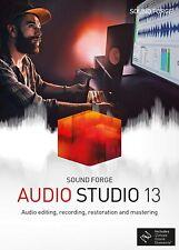 Magix Sound Forge Audio Studio 13 PC Windows Genuine Lifetime Digital Key