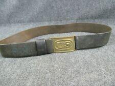 Fine Antique Original Indian War Us Infantry Soldier Sword Belt & Buckle