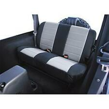 Jeep Wrangler (TJ) 03-06  Fabric Rear Seat Cover  Black & Grey insert 13282.09