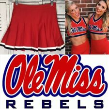 Cheerleading Uniform  Skirt  Ole miss adult XS